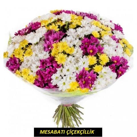 Kucak Dolusu Kır Çiçeği Buket